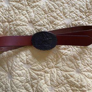 Eddie Bauer Special Edition Buckle Belt, Size 34